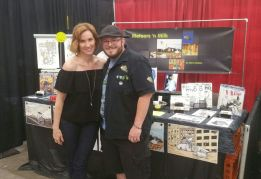 The highlight of the day was my interactions with Judith Hoag, (April O'Neal). More about this soon.